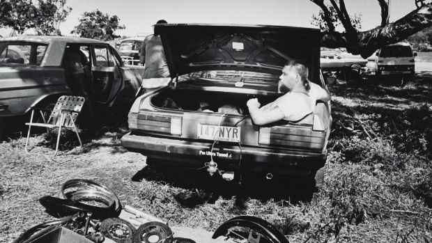 Transportable office, Toowoomba (from 'Journeys north' portfolio) 1986-87 Gelatin silver photograph on paper. Purchased ...