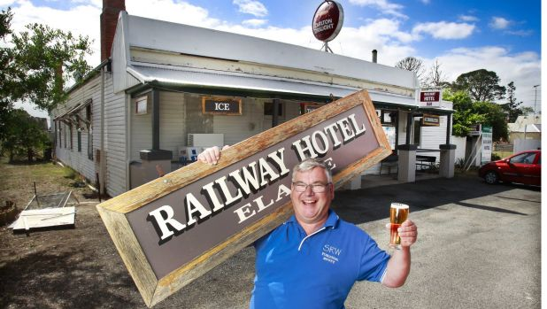 Retired air traffic controller Scott Whitaker is author of a new book on the history of every pub in Victoria named ...