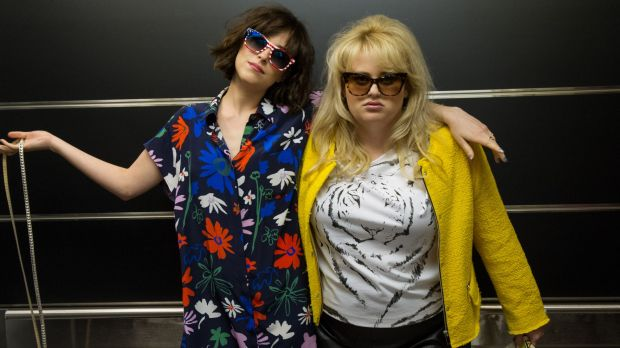 Certainties and uncertainties: Rebel Wilson (right) with Dakota Johnson in <i>How To Be Single</i>.