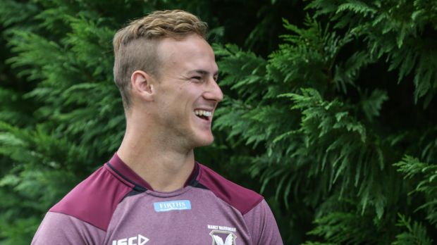 Increased responsibility: Manly halfback Daly Cherry-Evans.