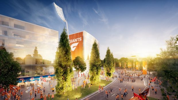 The GWS Giants' proposed Manuka Oval redevelopment shouldn't impact on Canberra's chances of hosting a Test or a BBL ...