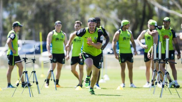Elliott Whitehead will play his first match in lime green this weekend in an NRL trial.