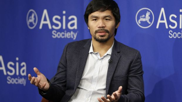 "Manny Pacquiao created controversy after saying people in same-sex relationships ""are worse than animals"". The boxer and ..."