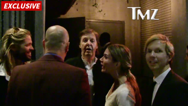 """How VIP do we gotta get?"" Sir Paul McCartney said after being turned away."