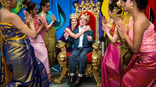 The Payne siblings, Michelle and Stevie, are this year's Moomba monarchs.