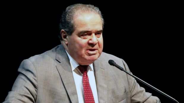 The late Supreme Court Justice Antonin Scalia last year.