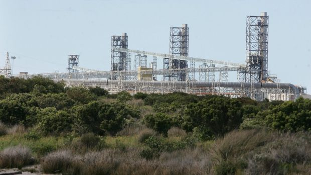 Alcoa's Portland aluminium smelter uses more than 10 per cent of Victoria's electricity when at full tilt.