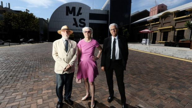 Clive Lucas, Penelope Seidler and Nick Pappas have signed a letter to help save the Powerhouse Museum.