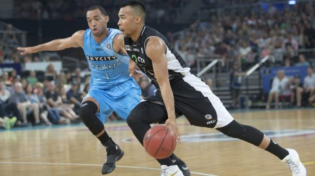 Ready to fire: Melbourne United guard Stephen Holt is ready to step up his game for the NBL semi-finals.