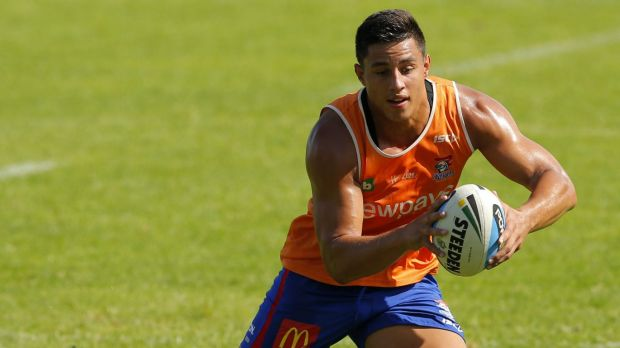 Joseph Tapine is at odds with the Kinights after signing a contract with the Raiders.