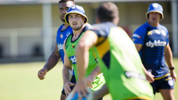 Hamstring problems: Kieran Foran.