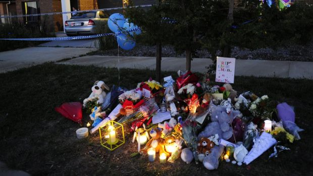 Candles were lit as a tribute for Braydn Dillon as the community gathered in Jacka on Wednesday.