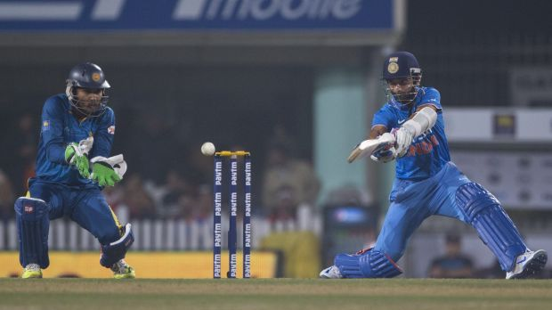 Consistency means nothing: India's Ajinkya Rahane during the T20 series against Sri Lanka.