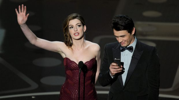 Anne Hathaway and James Franco host the 83rd Annual Academy Awards on February 27, 2011 in Hollywood.
