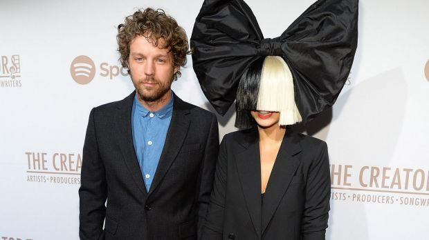 Erik Anders Lang and wife Sia attend The Creators Party Presented By Spotify on February 13, 2016 in Los Angeles, California.