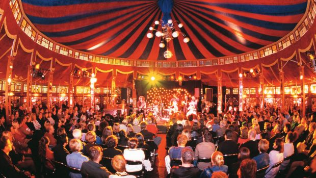 The Spiegeltent opens its doors this weekend outside Canberra Theatre.