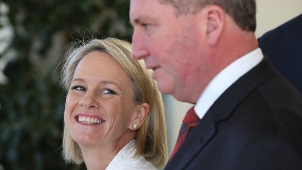 Nationals leadership duo Fiona Nash and Barnaby Joyce want to shift public servants out of cities into the bush.