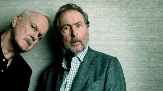 John Cleese and Eric Idle are in Sydney for their stage show.