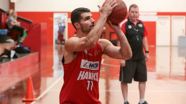 On call: NBL MVP Kevin Lisch is waiting to hear whether his request for Australian citizenship will be approved.