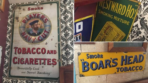 Some of the signs have cost $5,000 and are up to 120 years old.