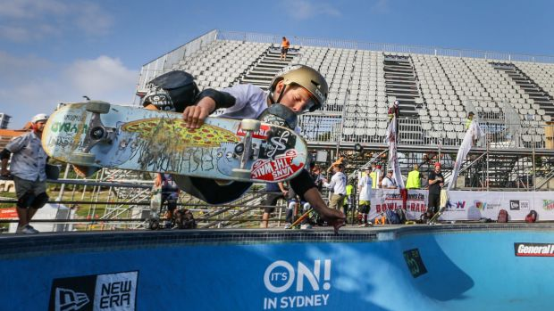 Ethan Copeland is the youngest skater to qualify for Bowl-a-rama. It is the first year competition has been opened to ...