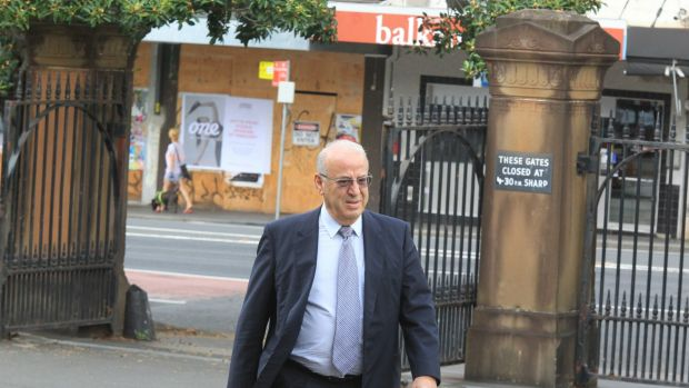Eddie Obeid arrives at Darlinghurst Courthouse on the seventh day of his criminal trial.
