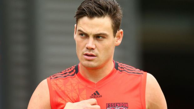 Taking a gamble: New Bomber Nathan Grima.