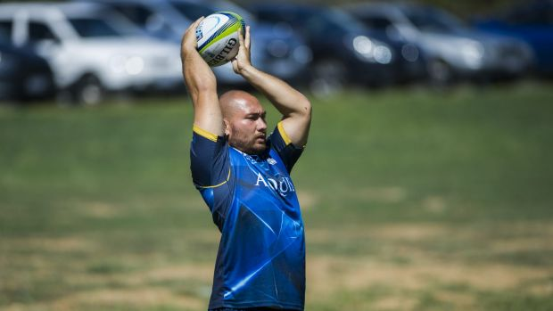 Robbie Abel says he's ready to step up for the Brumbies this year and challenge Josh Mann-Rea and Stephen Moore for game ...