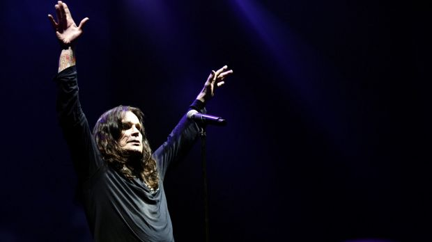 Heavy metal legend Ozzy Osbourne has seen the blistering performance of his hit Crazy Train by a 10-year-old Canberra ...