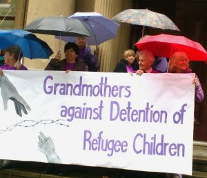 The Grandmothers: Making their voice heard.