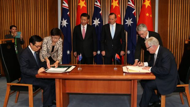 The signing of the China-Australia Free Trade Agreement is a golden opportunity for Australian innovation, says Peter ...