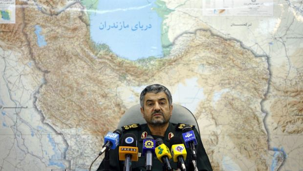"Mohammad Ali Jafari, the head of Iran's Revolutionary Guard, which one expert called ""a business conglomerate with guns""."