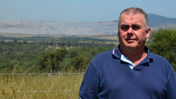 Peter Brown's property is surrounded by coal mines, but he is unable to require the mines to buy him out due to NSW's ...