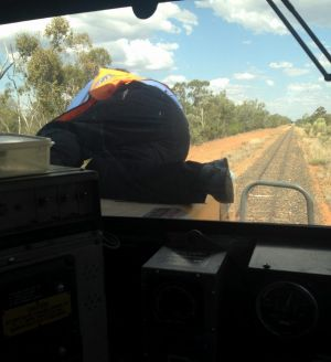 In taking the photos, the co-driver breached Queensland Rail's prohibition on use of mobiles while in the driver's cabin.