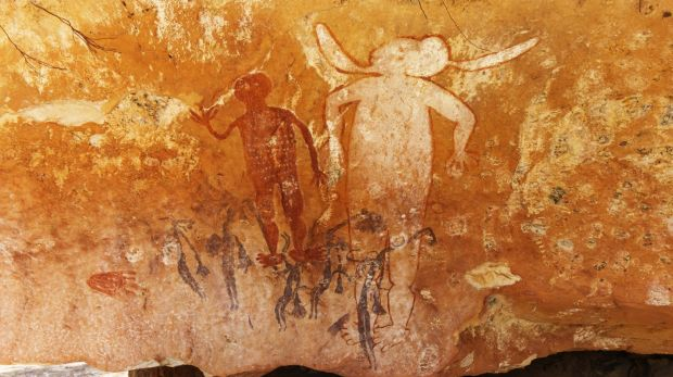 The Kimberley has tens of thousands of rock art  sites, including those at Munurru near the Gibb River Road. ...