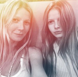 Paltrow turns to daughter Apple Martin, 11, for beauty advice.