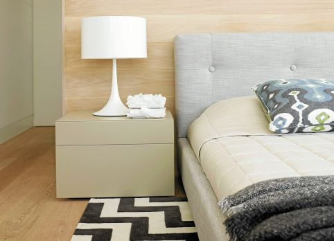 Greg Natale's relaxing pale timber and neutral hues.