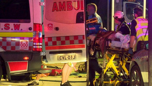 A man and a women were injured in the crash.