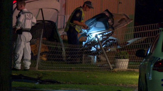 A critical incident investigation has been launched after the crash.