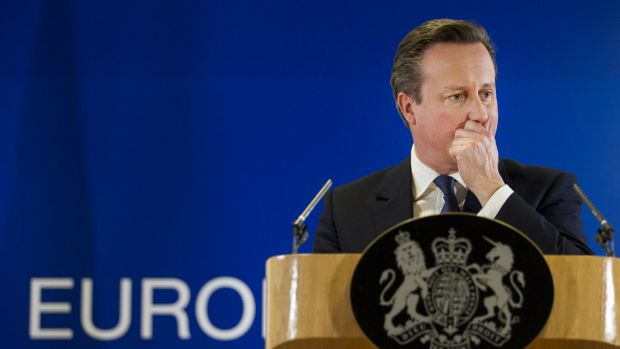 David Cameron reached an EU agreement after two days of talks.
