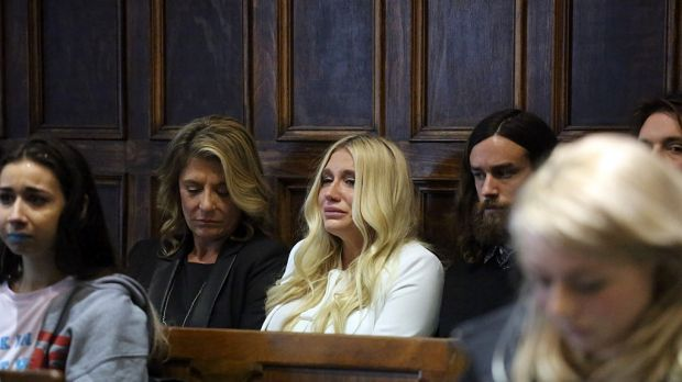 """Rosemary Patricia """"Pebe"""" Sebert and her daughter Kesha Rose Sebert as they learn Kesha will not be released from her ..."""