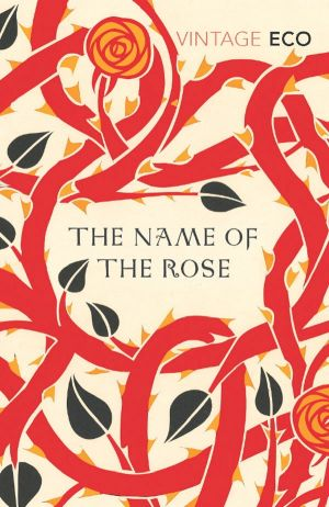 Book cover: The Name of the Rose by Umberto Eco (1980). Pic supplied for A2 books, 15-12-2007.