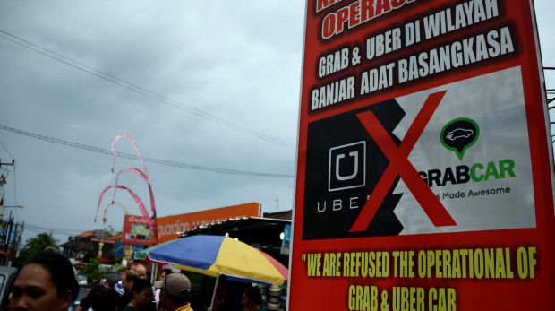 A concerted campaign to block Uber in Bali bore fruit.