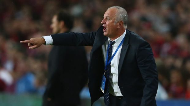 Cautious: Graham Arnold says the mobility of the Japanese players poses a danger to Sydney FC.