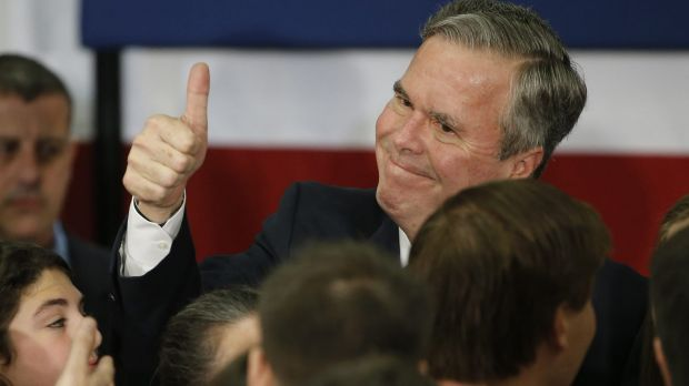 Bush never gained the confidence of the public, and once Trump pulled ahead he did not seem to have any answers.