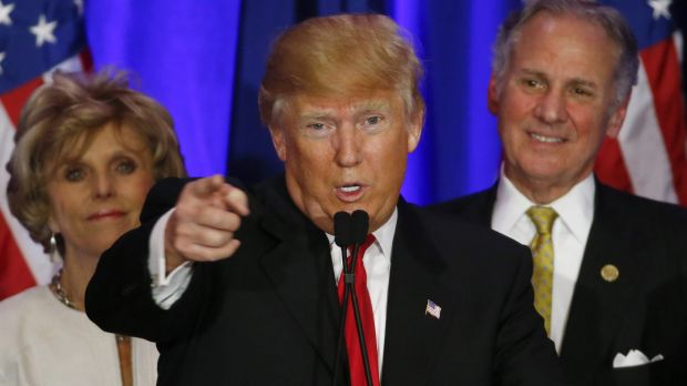 I want you: Donald Trump's victory in South Carolina has made him the hands-down favourite for the Republican ...