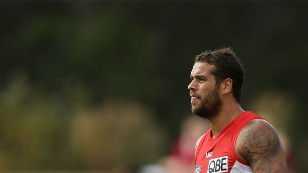 Back in action: Lance Franklin.