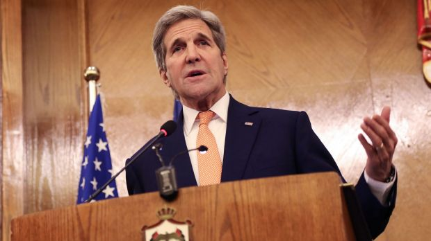 US Secretary of State John Kerry announces that a potential Syrian ceasefire agreement has been reached with Russia.
