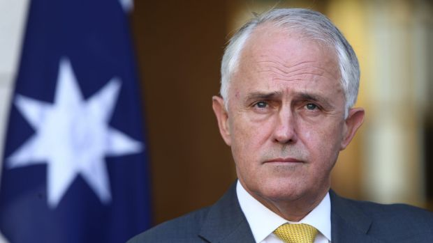 Malcolm Turnbull seems to be shrinking to the size of his stunted predecessors.