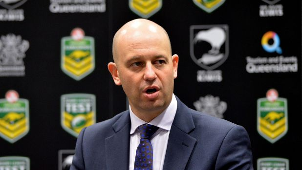 The man most likely: NRL clubs would support Todd Greenberg getting the game's top job.